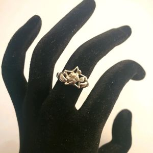Sterling Silver Mickey Mouse ring 7